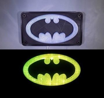 combine_images_display_large.jpg Download free STL file BATMAN LED Light/Nightlight • 3D print design, Balkhagal4D