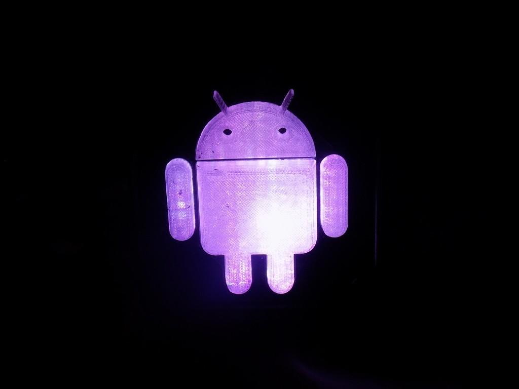 6_display_large.JPG Télécharger fichier STL gratuit Lampe de nuit/lampe de nuit Android Robot LED • Plan à imprimer en 3D, Balkhagal4D