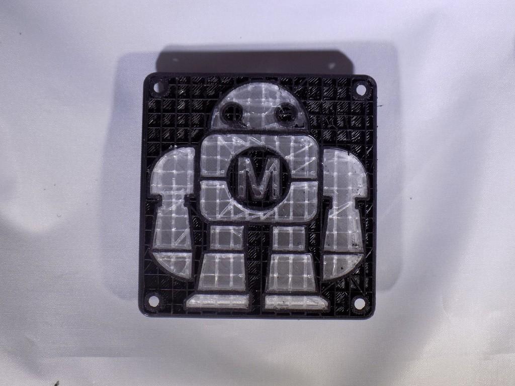 DSCN0224_display_large.JPG Télécharger fichier STL gratuit Maker Faire LED Enseigne de robot / veilleuse de nuit • Objet à imprimer en 3D, Balkhagal4D