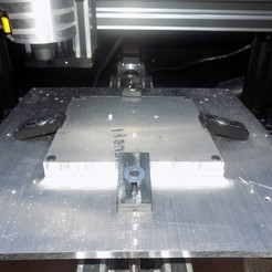 Free 3D printer files Printed CNC Jig, Balkhagal4D