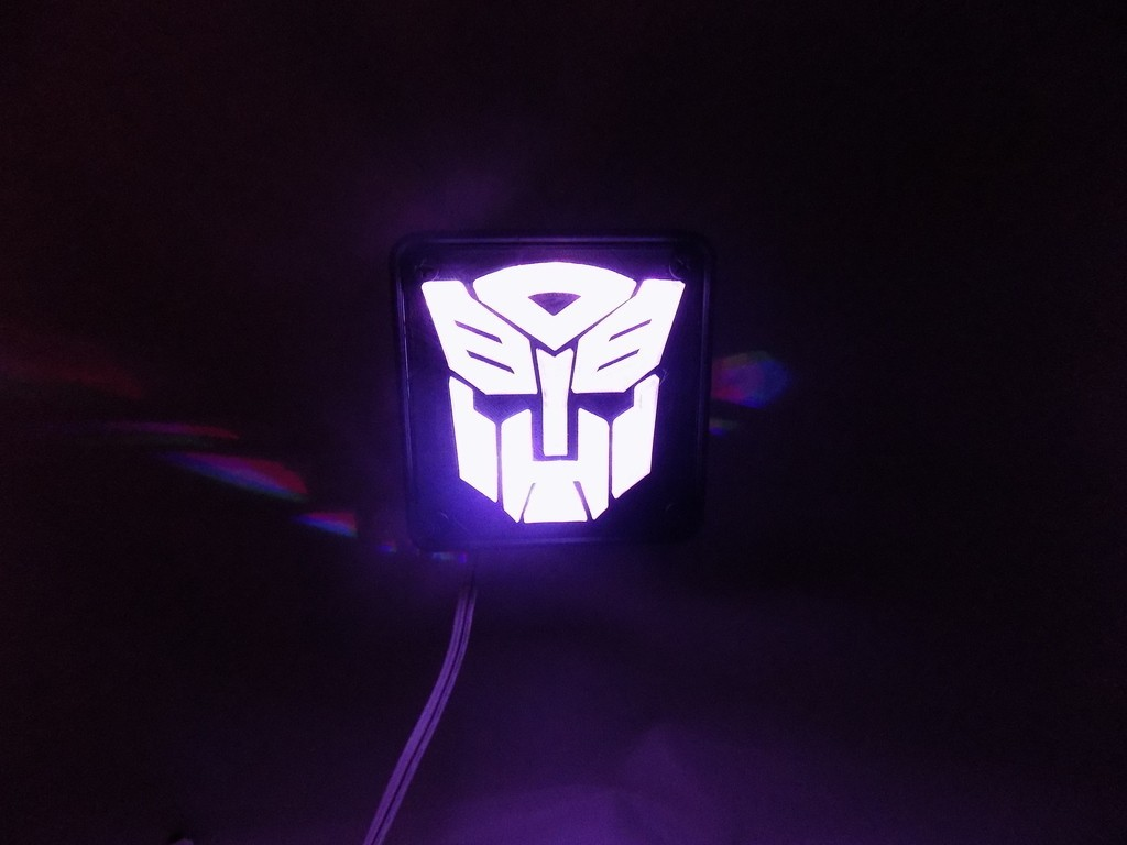 3_display_large.JPG Download free STL file Autobot Transformers LED Nightlight/Lamp • 3D printing template, Balkhagal4D