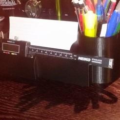 Télécharger fichier imprimante 3D gratuit Organisateur de bureau pour étrier, Balkhagal4D