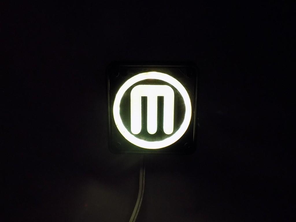 4_display_large.JPG Télécharger fichier STL gratuit Makerbot M Logo Lampe de nuit/lampe de nuit LED • Design à imprimer en 3D, Balkhagal4D