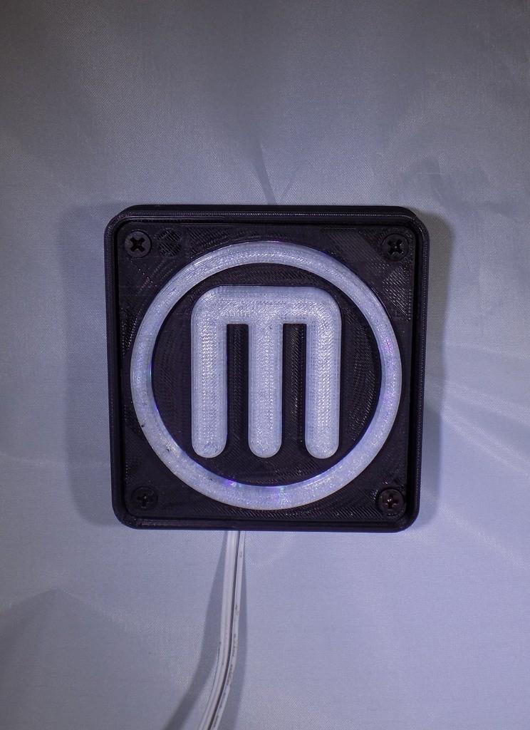 1_display_large.JPG Télécharger fichier STL gratuit Makerbot M Logo Lampe de nuit/lampe de nuit LED • Design à imprimer en 3D, Balkhagal4D