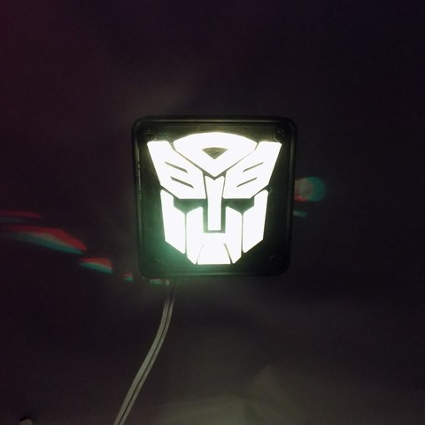 4_display_large.JPG Download free STL file Autobot Transformers LED Nightlight/Lamp • 3D printing template, Balkhagal4D