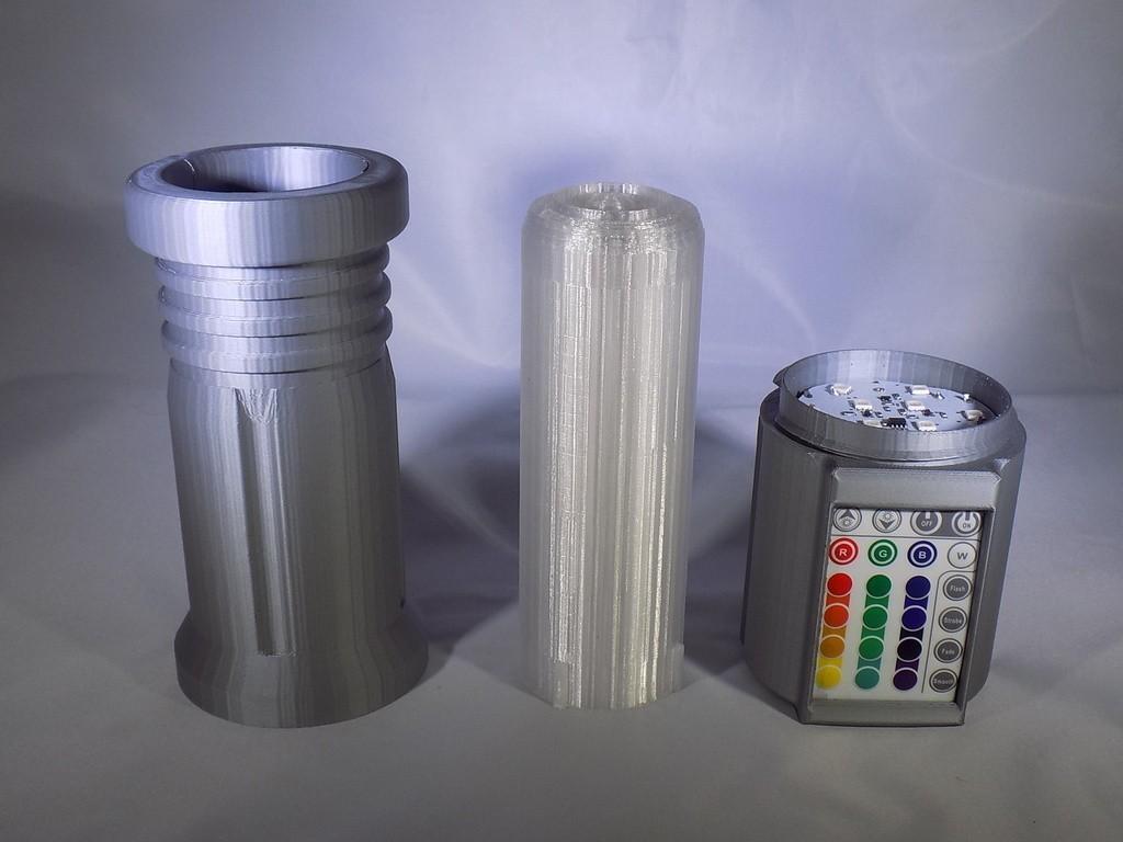25_display_large.JPG Download free STL file LIGHTSABER - LED - Fully Functional • 3D printer template, Balkhagal4D