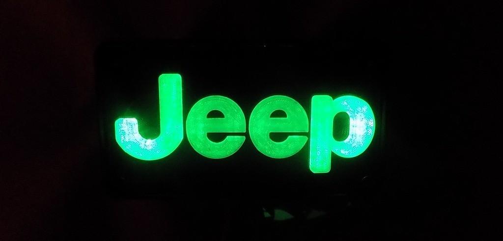 2_display_large.JPG Télécharger fichier STL gratuit Emblème Jeep Lumière LED / Veilleuse • Objet pour impression 3D, Balkhagal4D