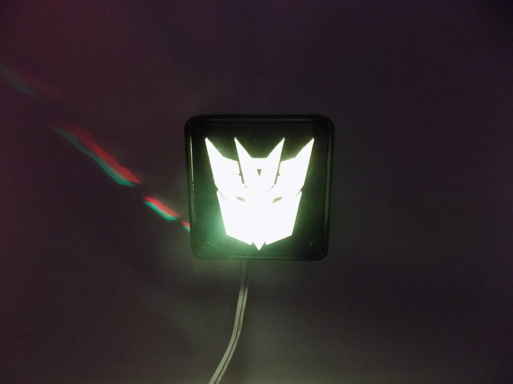 6_display_large.JPG Download free STL file Decepticon Transformers LED Nightlight/Lamp • 3D print model, Balkhagal4D