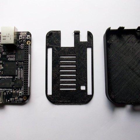 Download free 3D printer model BeagleBone Black Case with