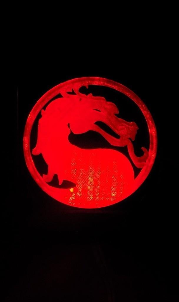 2_display_large.JPG Télécharger fichier STL gratuit Lumière LED Mortal Kombat Light/NightLight • Design pour impression 3D, Balkhagal4D