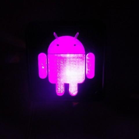 4_display_large.JPG Télécharger fichier STL gratuit Lampe de nuit/lampe de nuit Android Robot LED • Plan à imprimer en 3D, Balkhagal4D