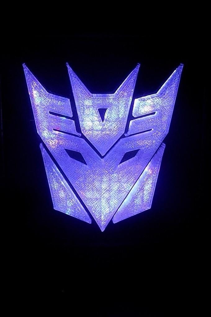 2_display_large.JPG Download free STL file Decepticon Transformers LED Nightlight/Lamp • 3D print model, Balkhagal4D