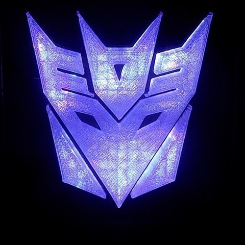 Download free 3D printing files Decepticon Transformers LED Nightlight/Lamp, Balkhagal4D
