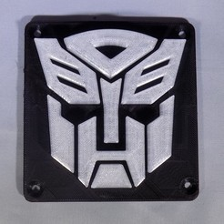 Free 3D printer files Autobot Transformers LED Nightlight/Lamp, Balkhagal4D