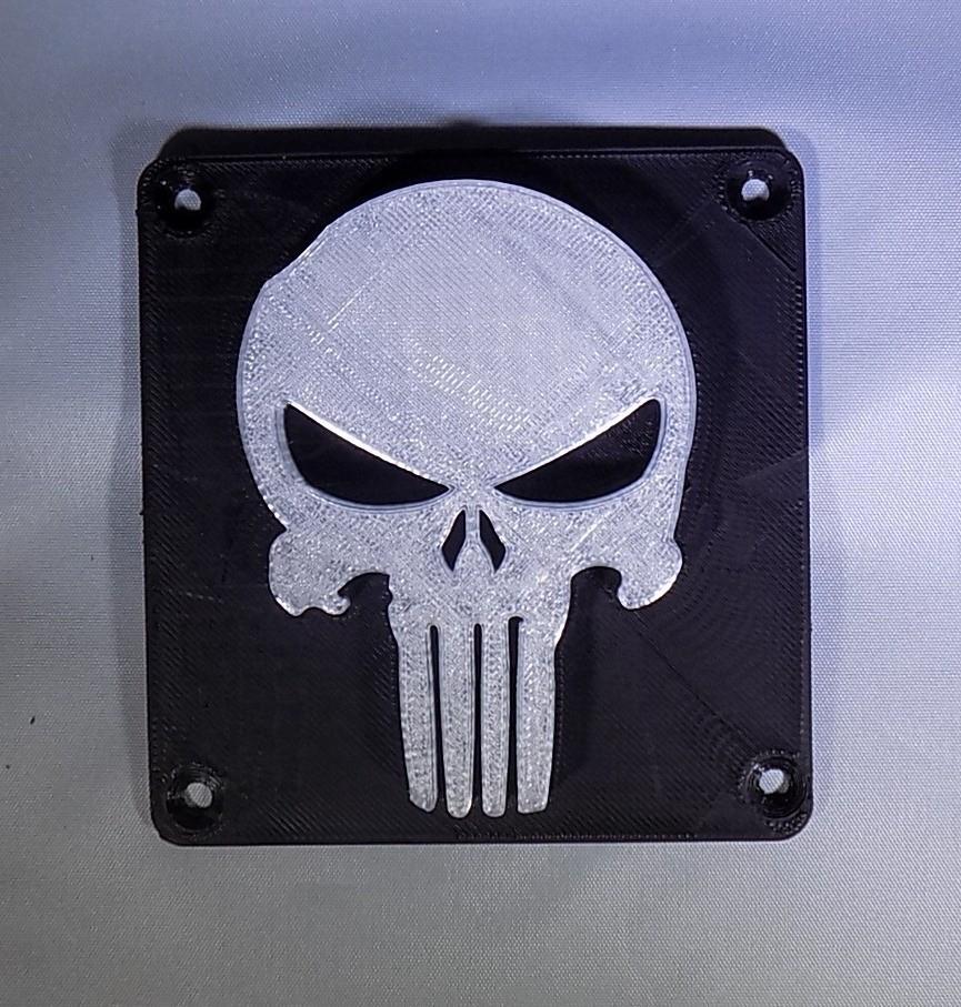 7_display_large.JPG Download free STL file Punisher LED Light/Nightlight • 3D printer object, Balkhagal4D