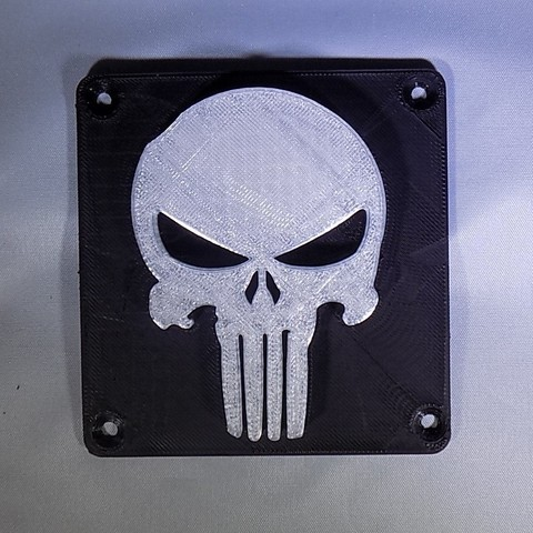 Free 3D printer files Punisher LED Light/Nightlight, Balkhagal4D
