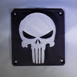 Descargar modelo 3D gratis Punisher Luz LED / Luz Nocturna, Balkhagal4D