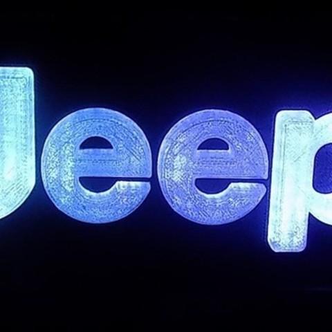 DSCN0423_display_large.JPG Télécharger fichier STL gratuit Emblème Jeep Lumière LED / Veilleuse • Objet pour impression 3D, Balkhagal4D