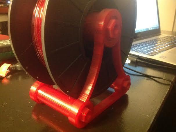 Spinner_5_display_large.jpg Download free STL file NeverLost Nut & Bolt Spinny Thing • 3D printing design, Balkhagal4D