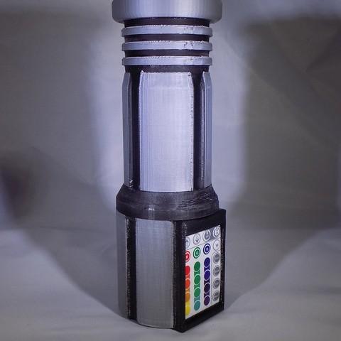 4_display_large.JPG Download free STL file LIGHTSABER - LED - Fully Functional • 3D printer template, Balkhagal4D