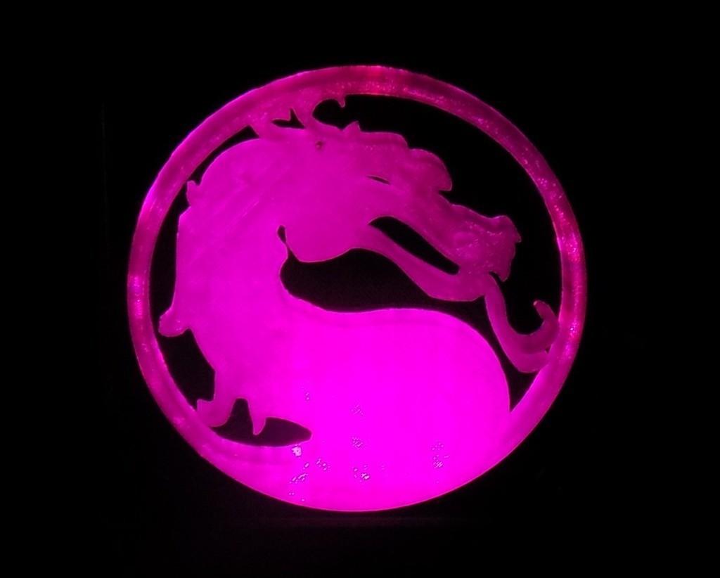 5_display_large.JPG Télécharger fichier STL gratuit Lumière LED Mortal Kombat Light/NightLight • Design pour impression 3D, Balkhagal4D