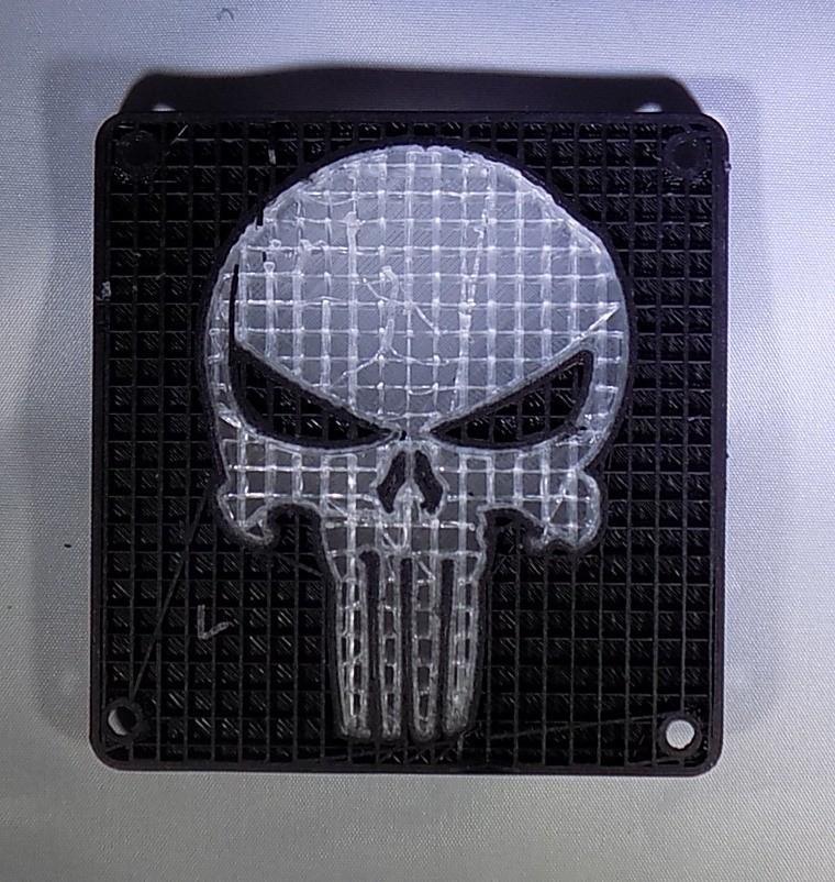 8_display_large.JPG Download free STL file Punisher LED Light/Nightlight • 3D printer object, Balkhagal4D
