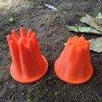 Free 3D printer designs Wave Equation Sand Castle Mold, Balkhagal4D
