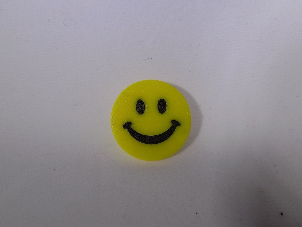 4_display_large.JPG Download free STL file SMILEY FACE Golf Ball Marker • 3D printing design, Balkhagal4D