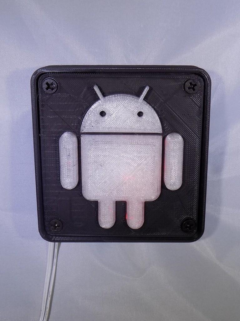 1_display_large.JPG Télécharger fichier STL gratuit Lampe de nuit/lampe de nuit Android Robot LED • Plan à imprimer en 3D, Balkhagal4D