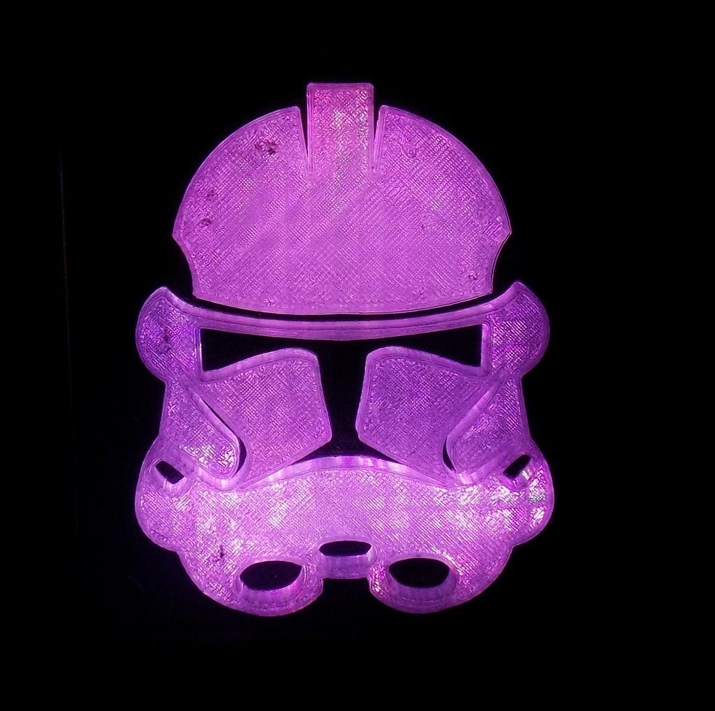6_display_large.JPG Download free STL file StormTrooper LED Light/Nightlight • 3D print template, Balkhagal4D