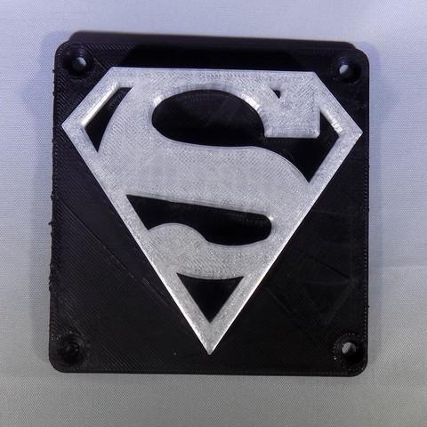 7_display_large.JPG Télécharger fichier STL gratuit SUPERMAN LED Lumière / Lumière de nuit • Plan imprimable en 3D, Balkhagal4D