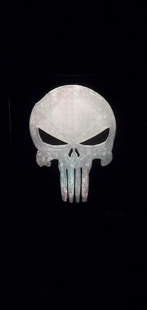 2_display_large.JPG Download free STL file Punisher LED Light/Nightlight • 3D printer object, Balkhagal4D