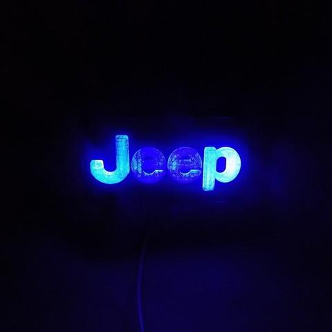 DSCN0426_display_large.JPG Télécharger fichier STL gratuit Emblème Jeep Lumière LED / Veilleuse • Objet pour impression 3D, Balkhagal4D