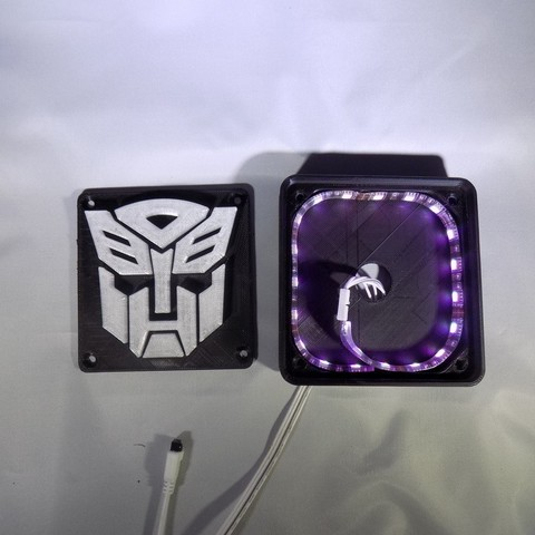 7_display_large.JPG Download free STL file Autobot Transformers LED Nightlight/Lamp • 3D printing template, Balkhagal4D