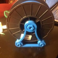 Free 3D print files Universal Spool Holder - Old Version, Balkhagal4D