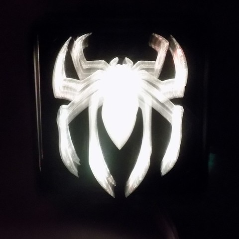 6_display_large.JPG Download free STL file SPIDERMAN LED Light/Nightlight • 3D print design, Balkhagal4D