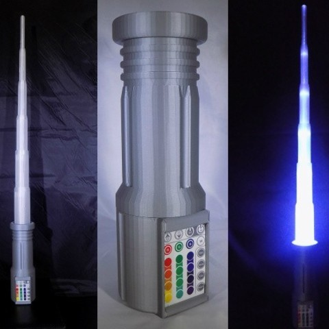 Télécharger modèle 3D gratuit LIGHTSABER - LED - Fully Functional, Balkhagal4D