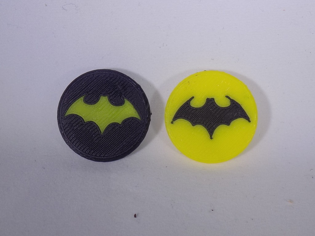 4_display_large.JPG Download free STL file BATMAN Ball Marker • 3D printable design, Balkhagal4D