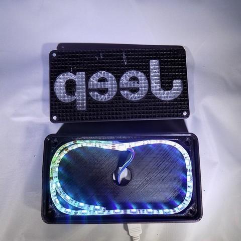 DSCN0411_display_large.JPG Télécharger fichier STL gratuit Emblème Jeep Lumière LED / Veilleuse • Objet pour impression 3D, Balkhagal4D