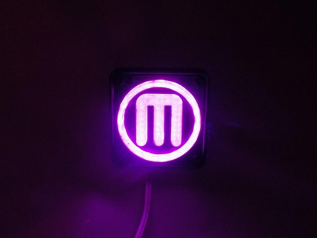 5_display_large.JPG Télécharger fichier STL gratuit Makerbot M Logo Lampe de nuit/lampe de nuit LED • Design à imprimer en 3D, Balkhagal4D