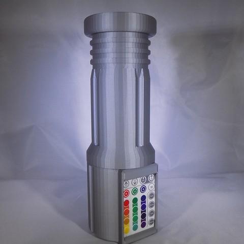 3_display_large.JPG Download free STL file LIGHTSABER - LED - Fully Functional • 3D printer template, Balkhagal4D
