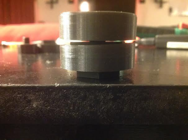 Spinner_4_display_large.jpg Download free STL file NeverLost Nut & Bolt Spinny Thing • 3D printing design, Balkhagal4D