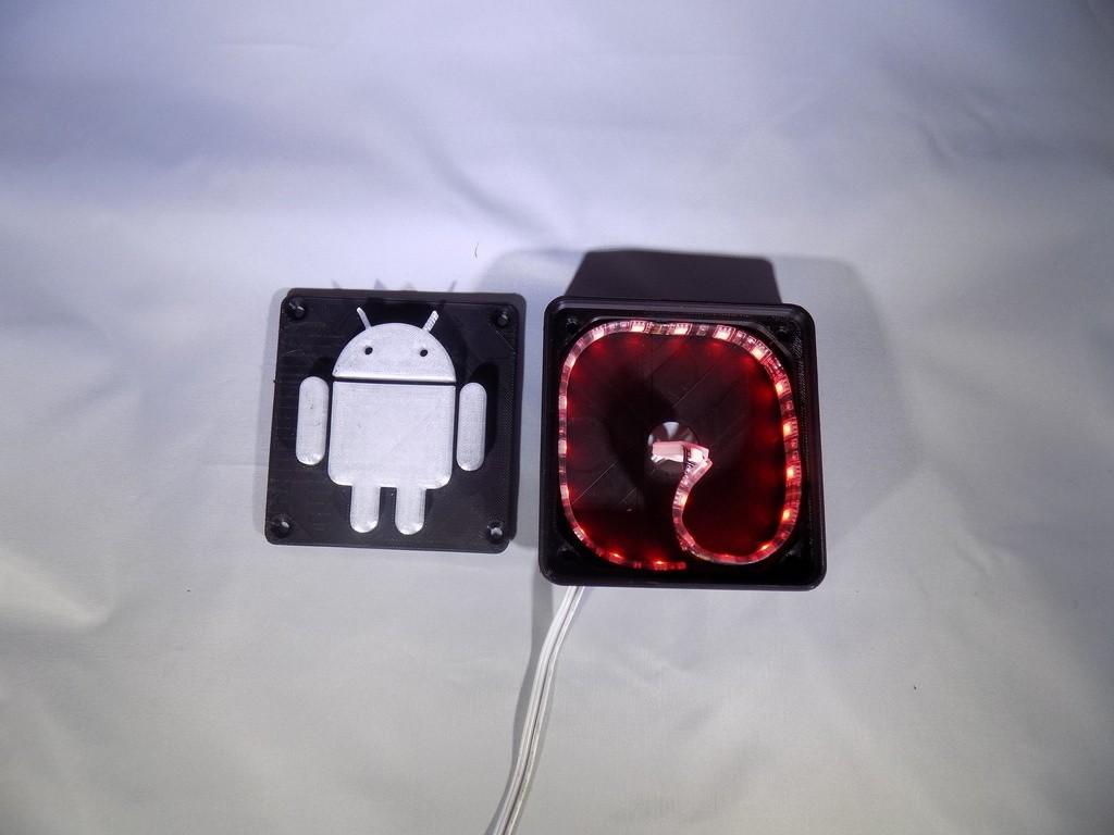 9_display_large.JPG Télécharger fichier STL gratuit Lampe de nuit/lampe de nuit Android Robot LED • Plan à imprimer en 3D, Balkhagal4D