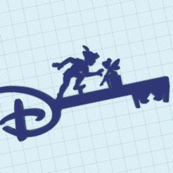 Descargar modelo 3D Key Peter Pan Key y el Hada Campanilla de Disney, victor51430