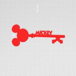 Imprimir en 3D Llave de Mickey Llave de Disney, victor51430