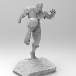 Descargar diseños 3D gratis SAGAT - STREET FIGHTER, dieavilago