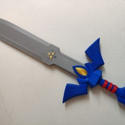 Download free 3D printing files Legend of Zelda - Windwaker Master Sword, ZoltanKi