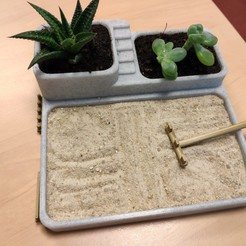 Descargar Modelos 3D para imprimir gratis Jardín Zen, ZoltanKi