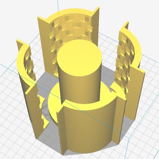 Télécharger objet 3D Moule porte-crayon, ajquerio