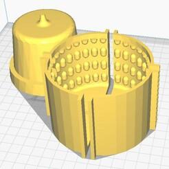 molde texturada.jpg Download STL file Textured Pot Mould • 3D printing object, ajquerio